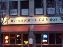 only a college town would have a bar named after a painfully esoteric joyce novel.